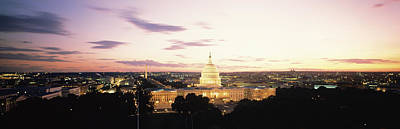 Us Capitol Washington Dc Usa Poster by Panoramic Images