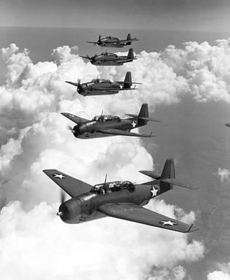 U.s. Navy Torpedo Bombers Poster by Granger