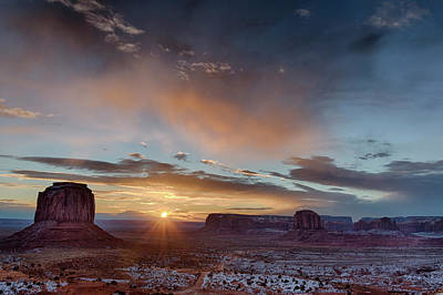 Usa, Arizona, Monument Valley Poster by John Ford