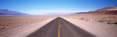 Usa, California, Death Valley, Empty Poster by Panoramic Images