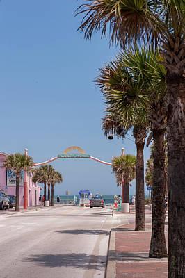 Usa, Florida, New Smyrna Beach, Flagler Poster by Lisa S. Engelbrecht
