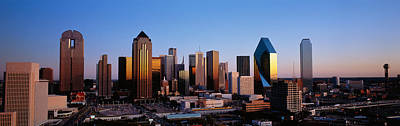 Usa, Texas, Dallas, Sunrise Poster by Panoramic Images