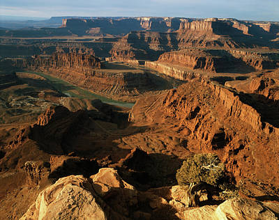 Usa, Utah, Moab, Dead Horse Point State Poster by Walter Bibikow