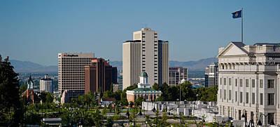 Utah State Capitol Building, Salt Lake Poster by Panoramic Images