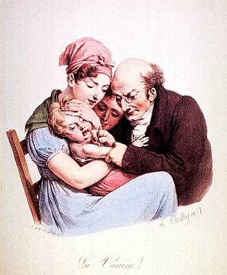 Vaccination Poster by National Library Of Medicine