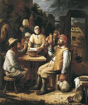 Van Craesbeeck, Joos 1606-1654. The Poster by Everett