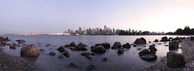Vancouver From Stanley Park Poster by Dan Breckwoldt