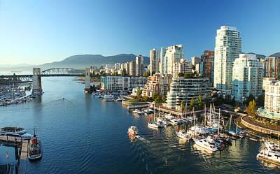 Vancouver Harbour Poster by Dan Breckwoldt