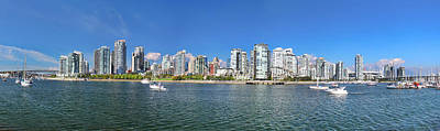 Vancouver Summer Poster by Dan Breckwoldt