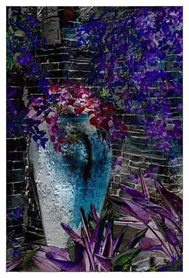 Vase Poster by Athala Carole Bruckner