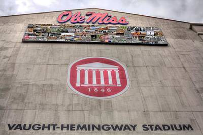 Vaught Hemmingway Stadium Poster by JC Findley