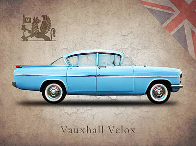 Vauxhall Velox Pa Poster by Mark Rogan