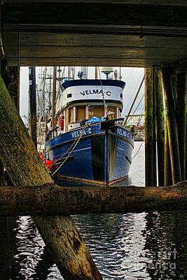 Velmac Thru The Pier Poster by Randy Harris