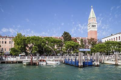 Venedig San Marco Poster by Melanie Viola