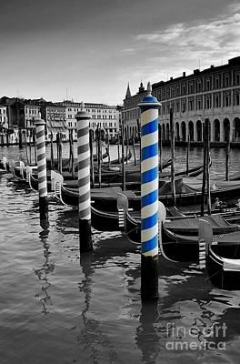 Venice Blue Poster by Henry Kowalski