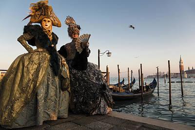 Venice Carnival '15 IIi Poster by Yuri Santin