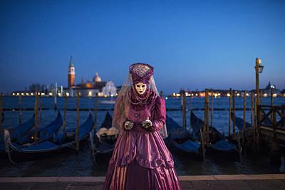 Venice Carnival '15 V Poster by Yuri Santin