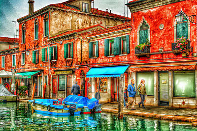 Venice Hdr Beauty 5 Poster by Yury Malkov