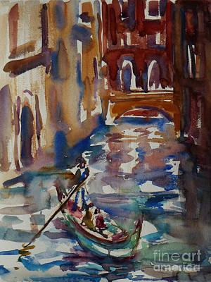 Venice Impression V Poster by Xueling Zou