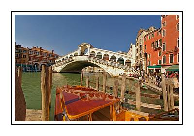Venice Italy Ver.16 Poster by Larry Mulvehill