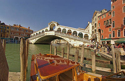 Venice Italy Ver.17 Poster by Larry Mulvehill