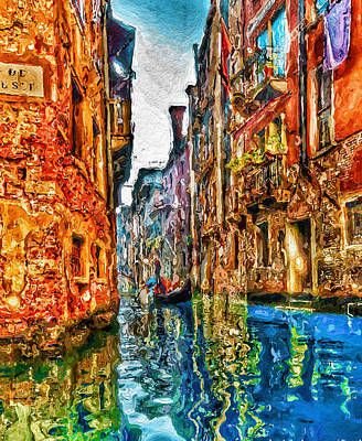 Venice Messy 2 Poster by Yury Malkov