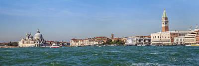 Venice Panoramic Poster by Melanie Viola