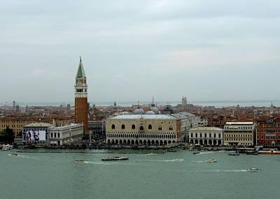 Venice Vista  Poster by Bishopston Fine Art