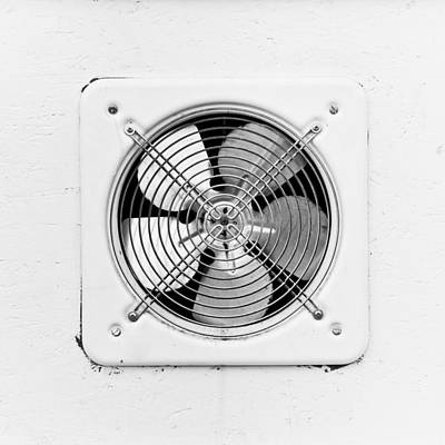 Ventilation Fan Poster by Tom Gowanlock
