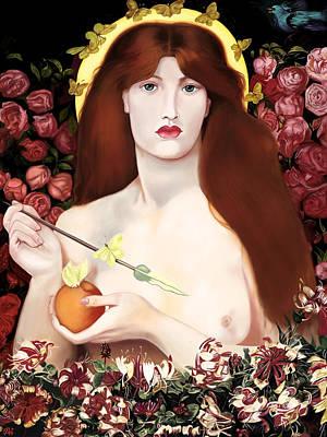 Venus Vorticordia Poster by Andrew Harrison