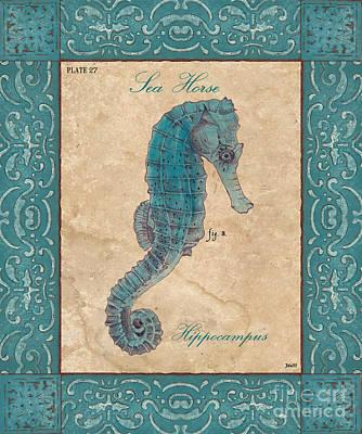 Verde Mare 3 Poster by Debbie DeWitt