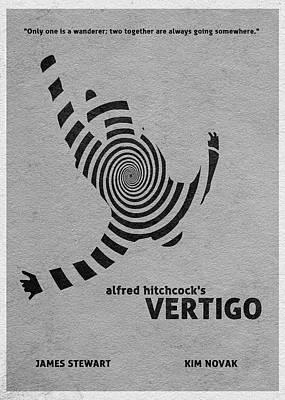 Vertigo Poster by Ayse Deniz