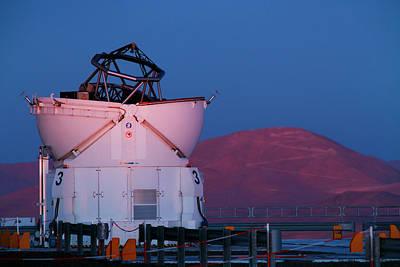Very Large Telescope Poster by Babak Tafreshi