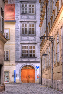 Vienna  Mozarthaus Poster by Juli Scalzi