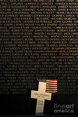 Vietnam Veterans Memorial Poster by John Greim