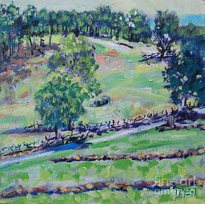 View From Cemetery Hill Poster by Larry Lerew