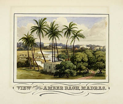View From The Ameer Bagh Poster by British Library