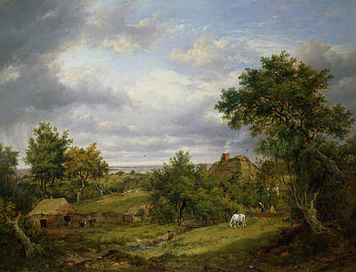 View In Hampshire, 1826 Poster by Patrick Nasmyth