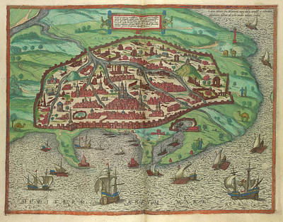 View Of Alexandria Poster by British Library