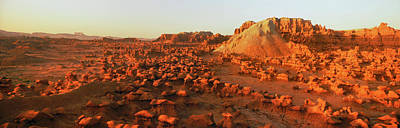 View Of Goblin Valley State Park, Utah Poster by Panoramic Images