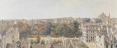 View Of Paris Poster by Louis-Nicolas de Lespinasse