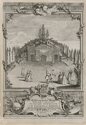 View Of The Hermitage Poster by British Library