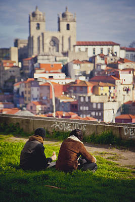 View Over Oporto Poster by Maria Conceicao Pires - Lightfactory