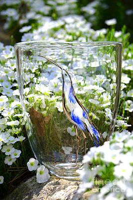 Vinsanchi Glass Art-3 Poster by Vin Kitayama