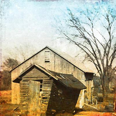 Vintage Barn Poster by Patricia Januszkiewicz