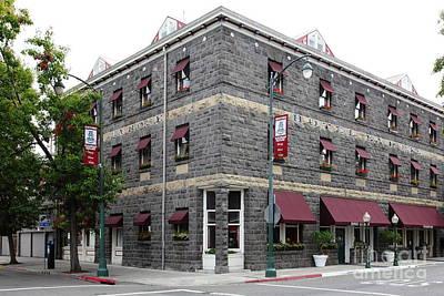 Vintage Hotel La Rose Santa Rosa California 5d25844 Poster by Wingsdomain Art and Photography