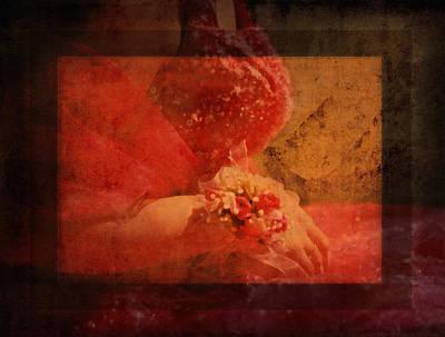 Vintage Memories Of First Love Poster by Georgiana Romanovna