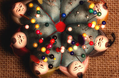 Vintage Pin Cushion Poster by Michael Eingle