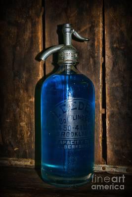 Vintage Seltzer Bottle  Poster by Paul Ward