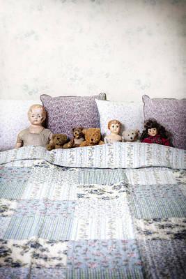 Vintage Toys Poster by Joana Kruse
